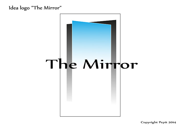 Idea per logo The Mirror 2
