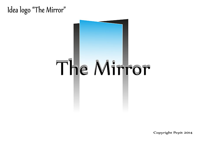 Idea per logo The Mirror 1